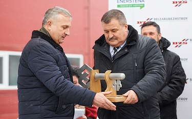 Consortium Belzarubezhstroy – Enerstena demonstrated successful implementation of an international bioenergy project. Report from the opening ceremony of the mini-CHP in Kalinkovichi - image 4