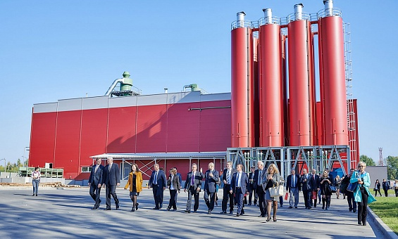 Cement-bonded particle board plant in Belarus - image 3