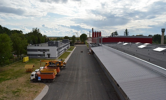 Cement-bonded particle board plant in Belarus - image 4