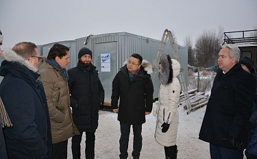 Cherikov Solar Plant groundbreaking ceremony. Installation of a plaque in Blizhniaya Rechitsa, and project presentation and press-conference in Minsk.  - image 2