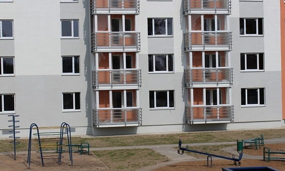 Residential buildings on Altayskaya str., Mogilev (VST stay-in-place formwork technology) - image 4
