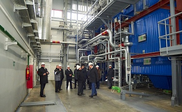 Consortium Belzarubezhstroy – Enerstena demonstrated successful implementation of an international bioenergy project. Report from the opening ceremony of the mini-CHP in Kalinkovichi - image 11