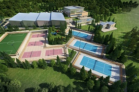 Minsk will have a new tennis center, a joint project of the British and Belarusian specialists (3 photos)